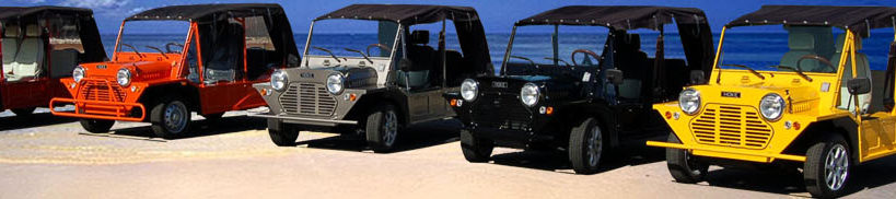 moke golf car, moke golf cart, golf cart rental