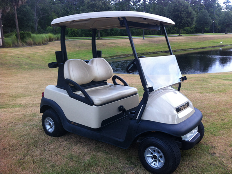 Club Car Precident on gem golf cart sales